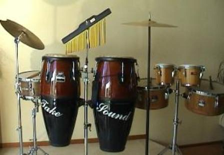 percussie drums